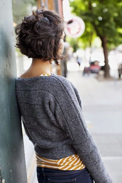 Messy Pinned Curls
