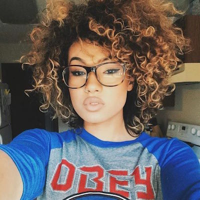 Ombre Afro
