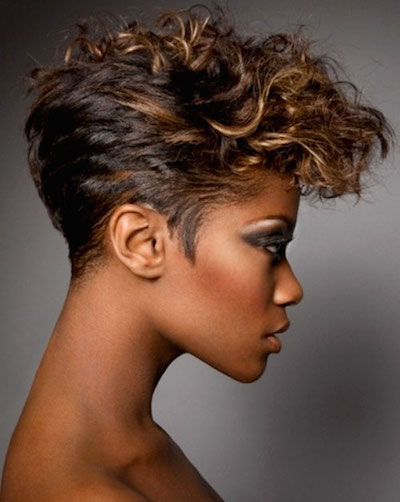 Hairstyles For Black Girls With Short Hair 84