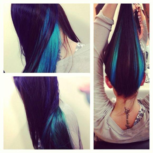 Gorgeous Purple Hair Color Ideas - Straight Long Hair
