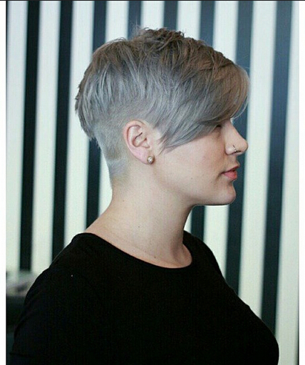 Round Full Face Women Hairstyles for Short Hair