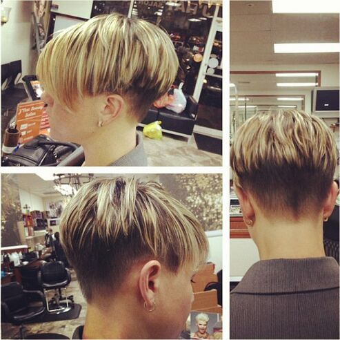 Short Hair Highlights Ideas
