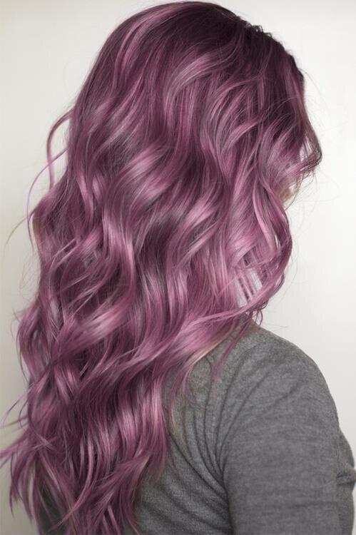 Subtle Purple Hairstyle Ideas for Women