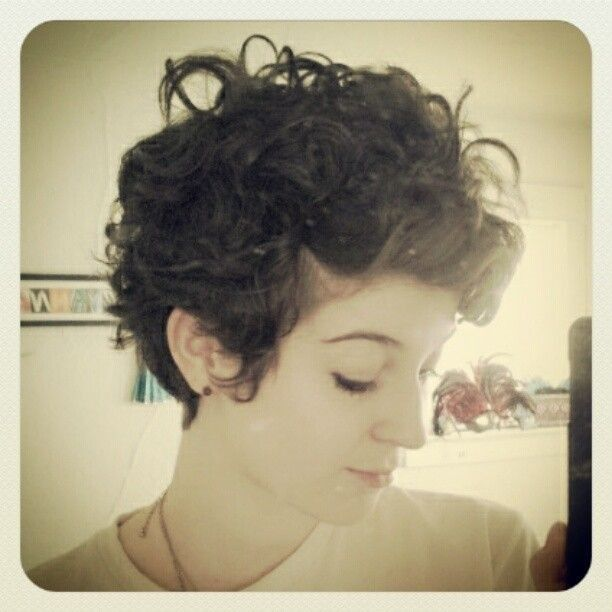 Curly And Wavy Pixie Haircuts Popular Haircuts