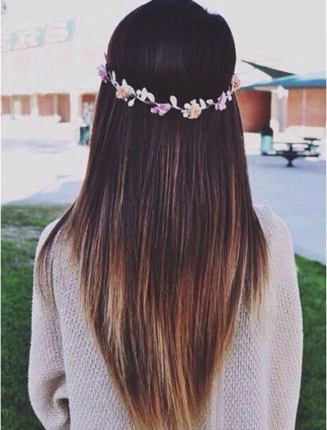 Long Straight Hairstyles and Cuts