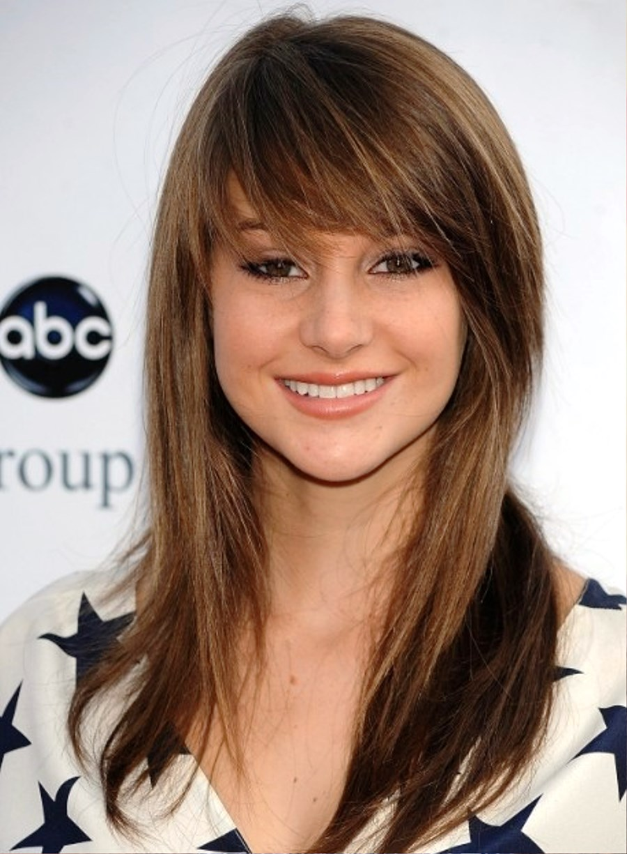 Strange Hairstyles For Straight Hair With Side Swept Bangs Hairstyle Short Hairstyles Gunalazisus
