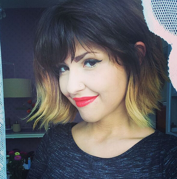 Fine 22 Bright Bob Hairstyles With Bangs Style Texture Amp Colour In Hairstyles For Women Draintrainus
