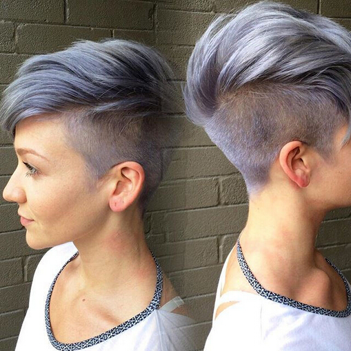 Shaggy Messy Spiky Choppy Curls Layered Pixie Hair Cuts 14