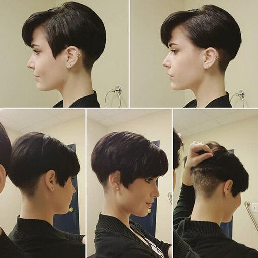 Shaggy Messy Spiky Choppy Curls Layered Pixie Hair Cuts Short Hairstyles 2016