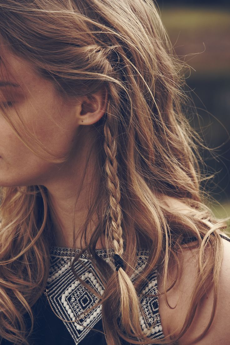 2019 year style- Braid Fishtail hairstyles for boho fashion pictures