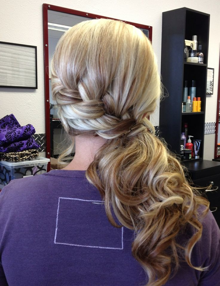 15 Hot Side-Ponytail Hairstyles: Romantic, Sleek, Sexy ...