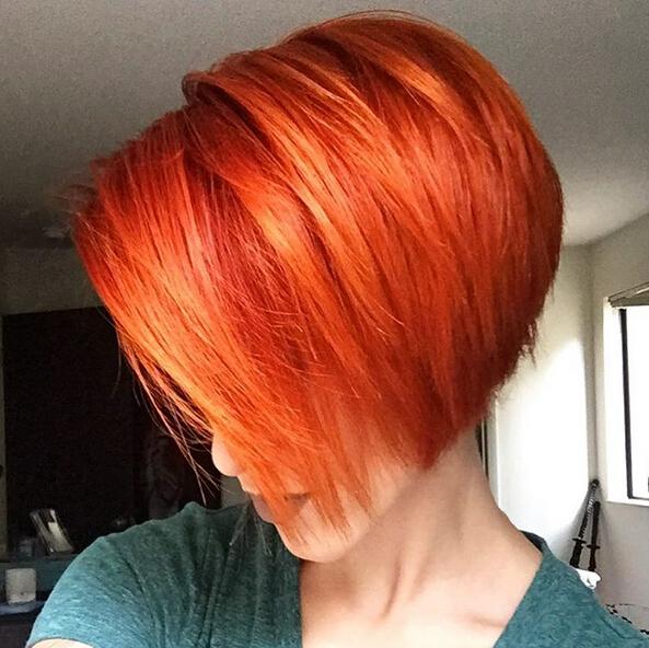 A Line Bob Haircut With Straight Hair Short Hairstyle Color Ideas 2016 Popular Haircuts