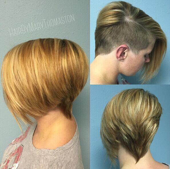 Awesome Undercut Hairstyle for Short Hair - Short Haircut Ideas 2019