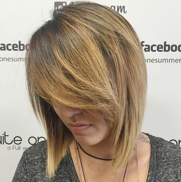 Blonde and Bold with Bob Cut - Short Hairstyles for Thick Hair 2016