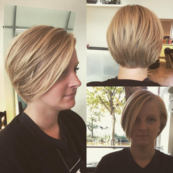 Crazy Short Bob Haircut