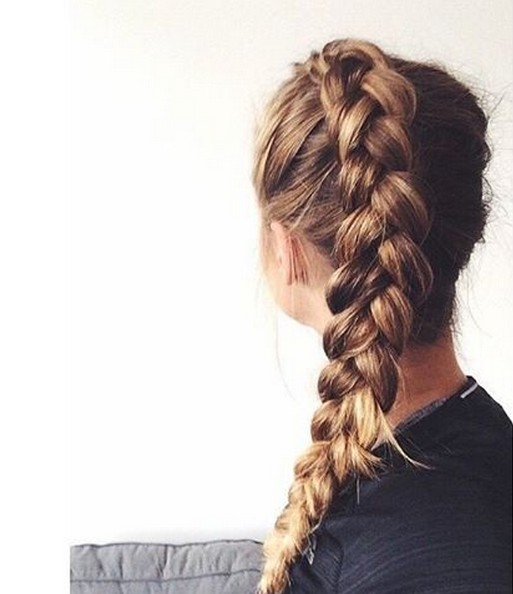 Cute, Easy Braid Hairstyle