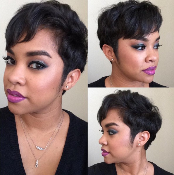 Cute Everyday Hairstyles for Short Hair - Black Women Hairstyles 2016
