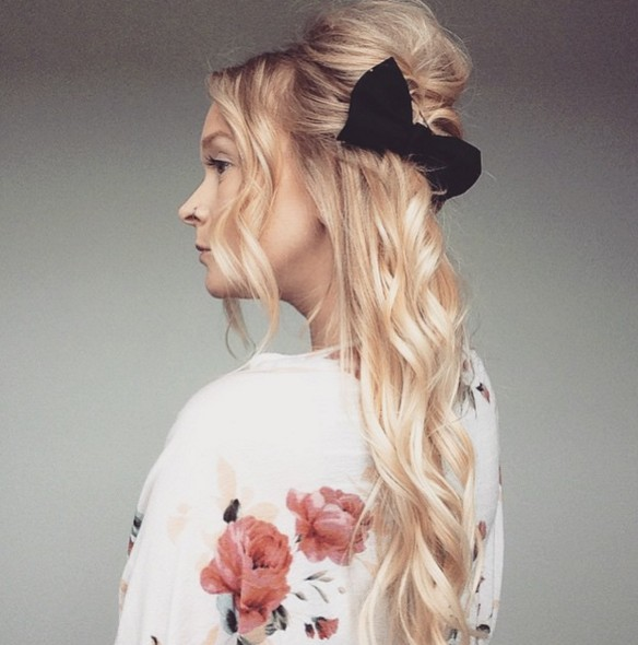 Cute Half Up Hairstyles - Summer Hair Styles for Long Hair