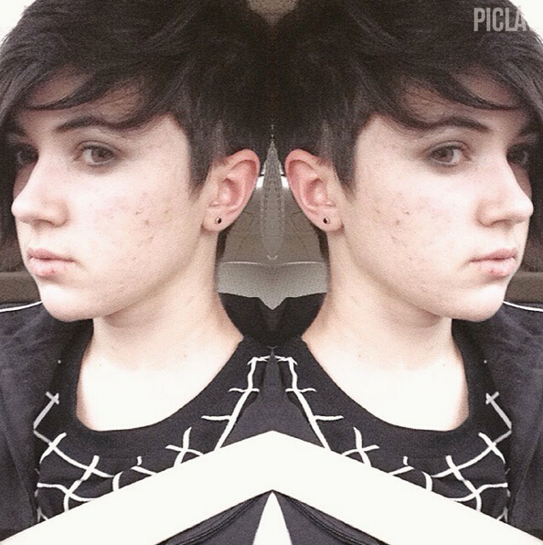 Cute Undercut Hairstyle for Girls