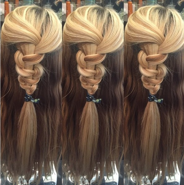 Fun and Quick Half Up Half Down Hairstyle for summer