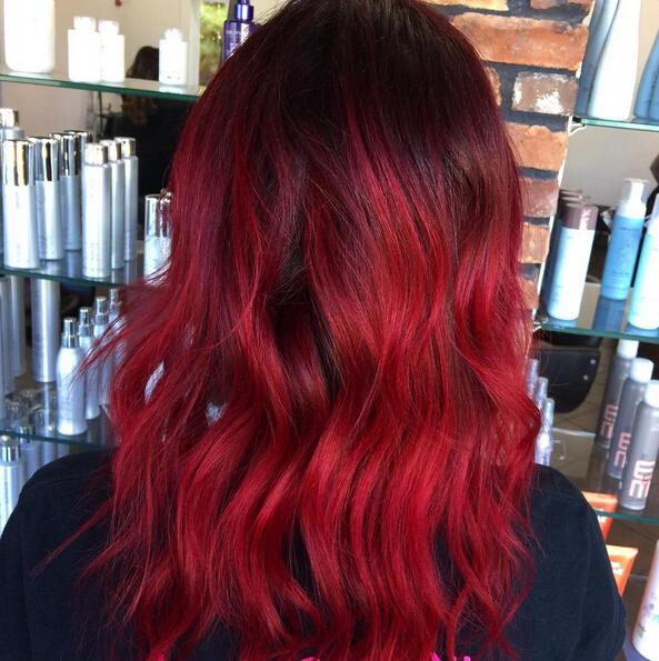 Layered Hairstyle for Medium Hair