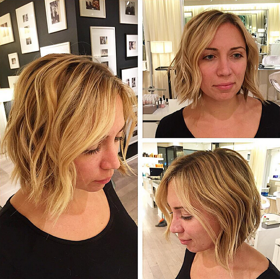 Layered, Wavy Bob Hairstyles for Women Short Hair