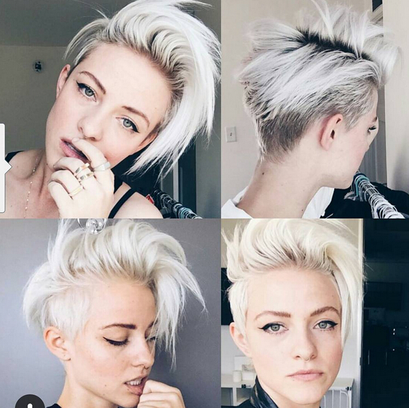 Light Blonde Hairstyle Ideas For Short Hair Short Hairstyles Trends