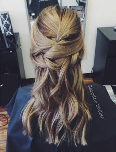 New Half-Up Half-Down Hairstyles Trends