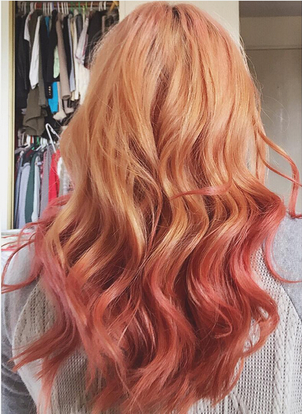 Ombre, Wavy Hairstyles for Medium Long Hair