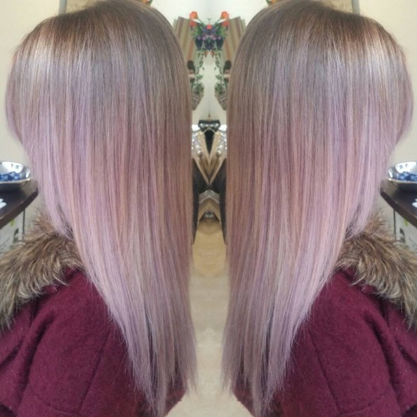 Pink Ombre - Straight Hair Cuts 2016