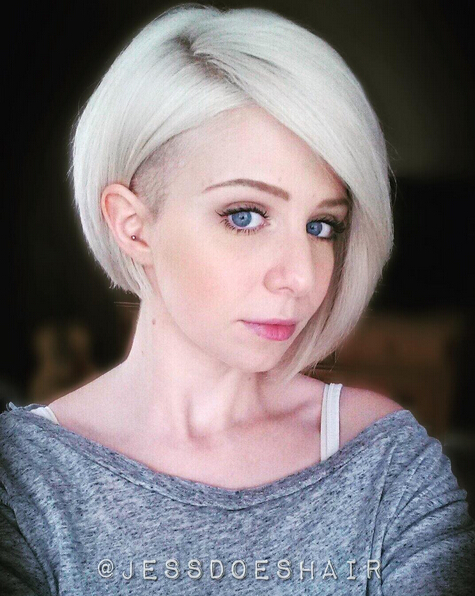 Shaved Bob Haircut