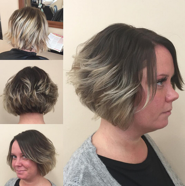 Short Bob Hairstyle For Round Face Shape Popular Haircuts