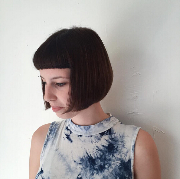 25 Stylish Bob Hairstyles With Bangs Style Amp Colour In