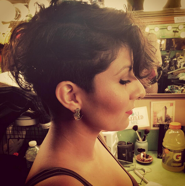 Short Hair Cuts with Curly Hair - Stylish Short Hairstyle 2016