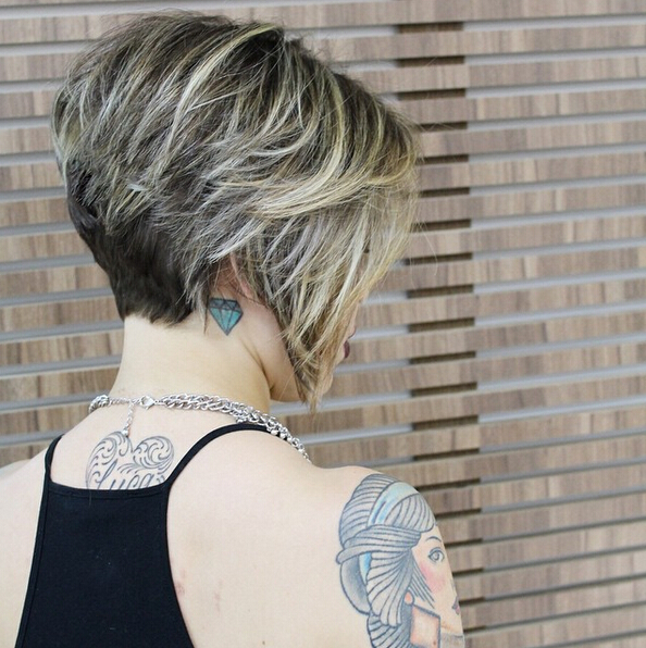 Straight Bob Hairstyles With Thick Hair Women Short Haircut 2016