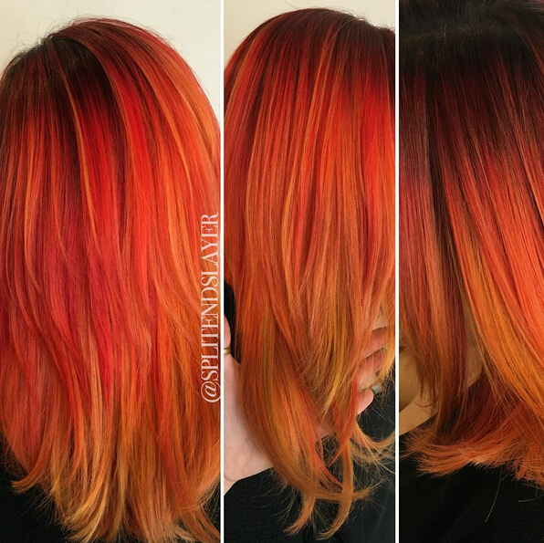 Stunning New Red Hair Colour Ideas 2016