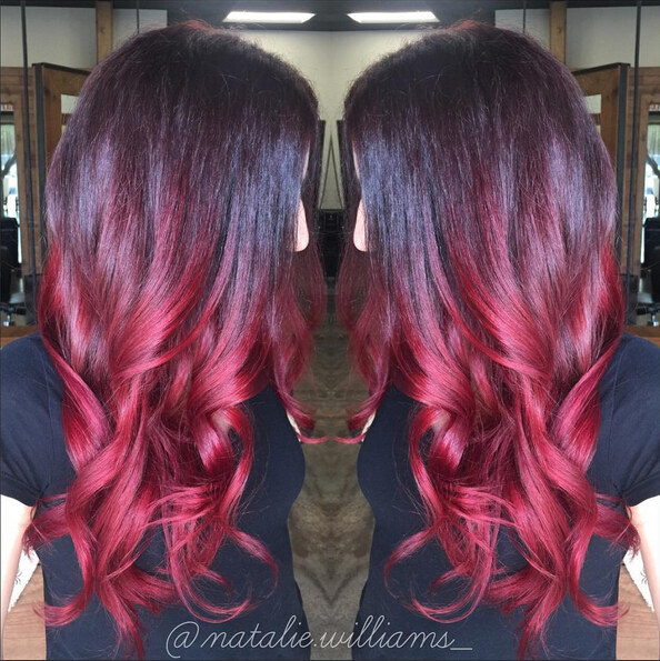 Stunning New Red Hair Colour Ideas for Long Hair
