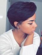Stylish Short Pixie Cut - Amazing Modern Afro Hairstyles 2016