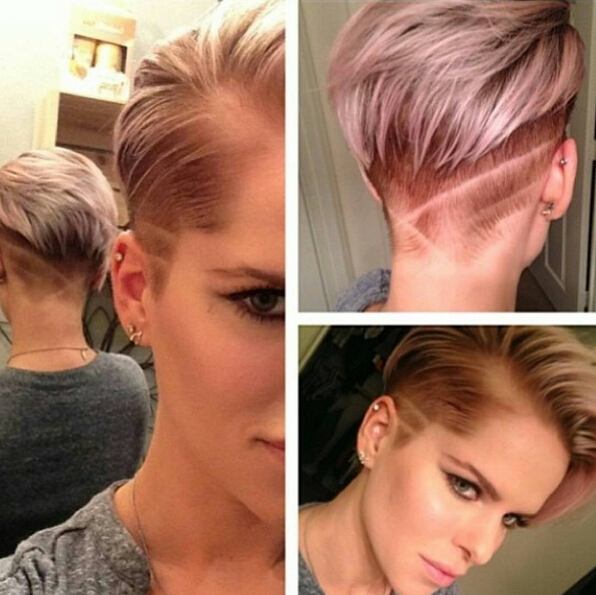 Shaved Hair Styles Trendy Shaved Haircuts For Short Hair  Short Straight Hairstyles .