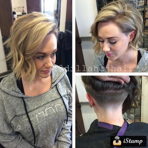 Undercut Hairstyle for Medium Hair - Layered Haircuts 2016