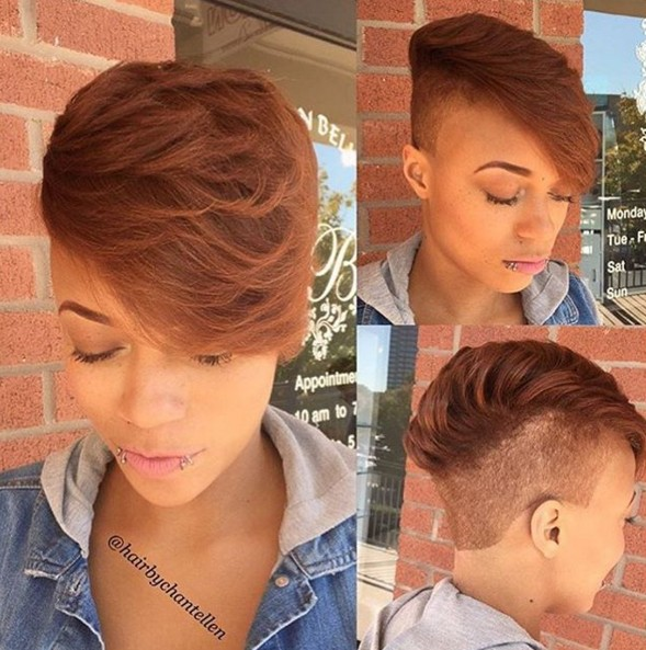 Undercut for Short Hair - Modern Afro Hairstyles 2016