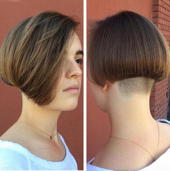 Undercut with Bob Hair Styles - Short Haircuts 2016