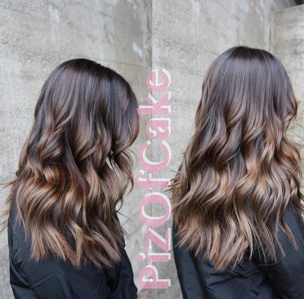 Wavy Hairstyles with Dark Brown Hair
