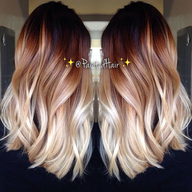 Two Tone Hair Colour Ideas To Dye For Ombre Styles