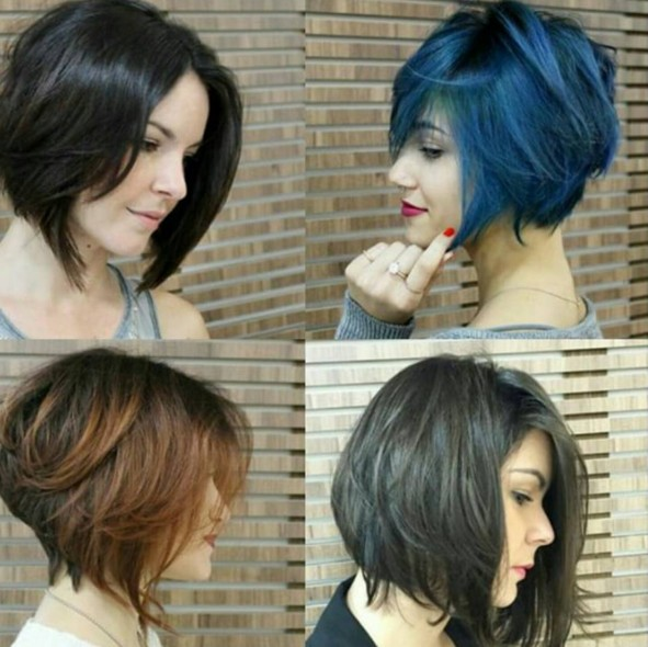 Awesome 30 Stylish Short Hairstyles For Girls And Women Curly Wavy Short Hairstyles For Black Women Fulllsitofus