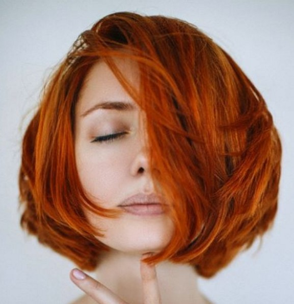 A-line Bob Haircut - Short Hairstyles for Thick Hair