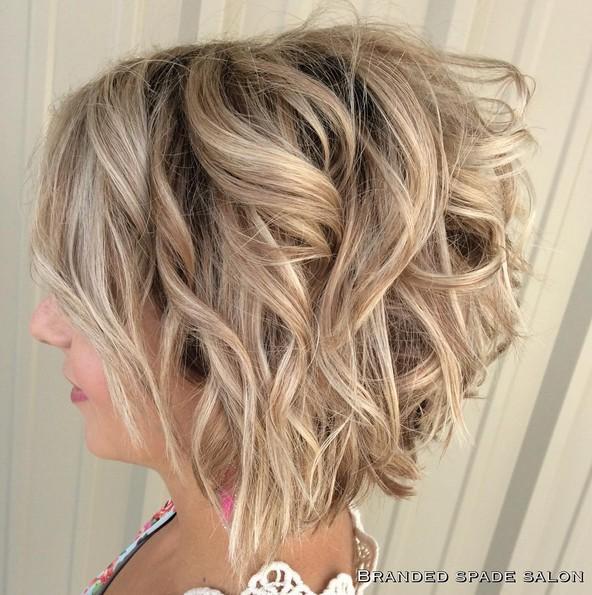 18 Hot Angled Bob Hairstyles: Shoulder Length Hair, Short Hair Cut Ideas - PoPular Haircuts