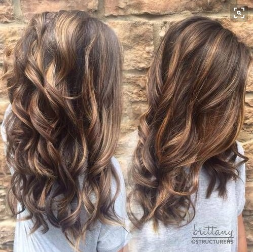 10 SuperFresh Hairstyles For Brown Hair With Caramel Highlights  PoPular Ha