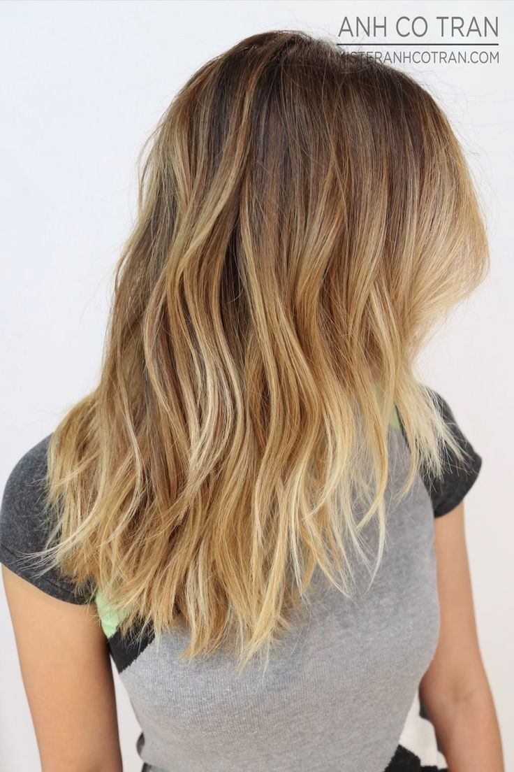 ombre style hair 10 layered haircuts for medium hair now popular 2370