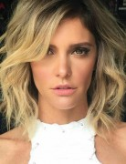 Blonde Wavy Haircut - Shag Hairstyle Designs